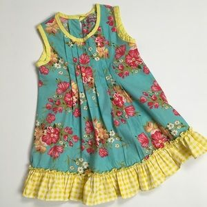 Jelly The Pug pleated shift dress   3T